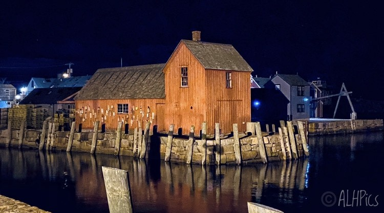Motif at Night